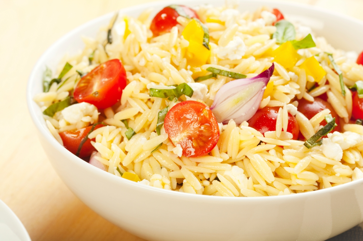 Summer Orzo Salad | Stalking Celery