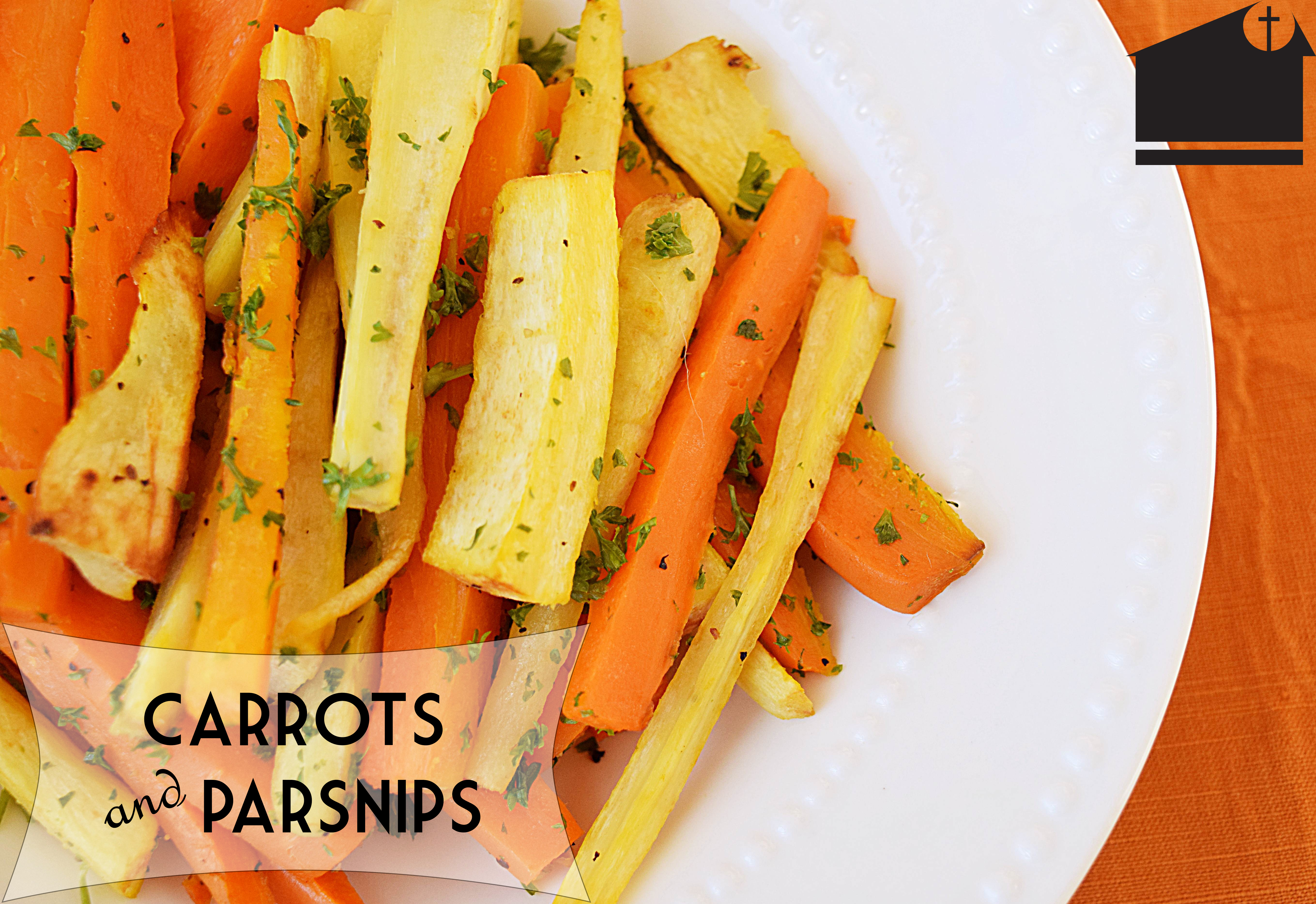 Roasted Carrots and Parsnips – Stalking Celery